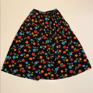 Vintage Floral Liz Sport skirt